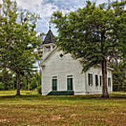 The Old Country Church Art Print