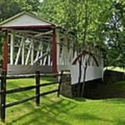 The Old Covered Bridge Art Print
