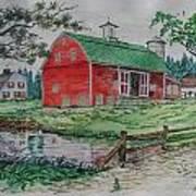 The Old Family Farm Art Print