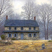 The Old Farmhouse Art Print