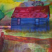 The Old Farmhouse Art Print
