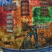 The Old Fashion Bike Art Print