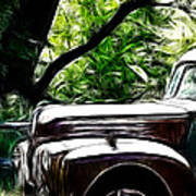 The Old Ford Truck Art Print