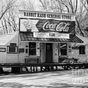 The Old General Store Bw Art Print by Mel Steinhauer