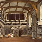 The Old Guard Chamber, The Round Tower Art Print