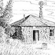 The Old Homestead Art Print