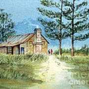 The Old Homestead Art Print