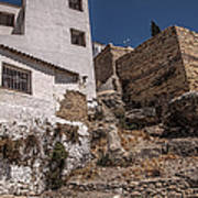 The Old Houses Of Ronda. Andalusia. Spain Art Print