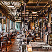 The Old Machine Shop Art Print