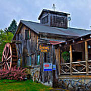The Old Mill Restaurant - Old Forge New York Art Print by David Patterson