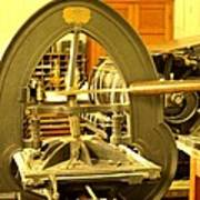 The Old Printing Press Art Print