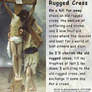 The Old Rugged Cross Art Print