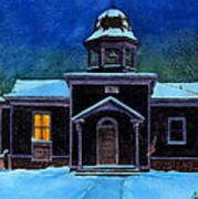 The Old School House Art Print