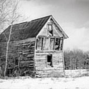 The Old Shack Art Print by Gary Heller
