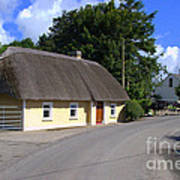 The Old Thatched Cottage Art Print