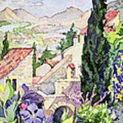 The Old Town Vaison Art Print