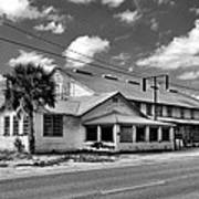 The Old Victory Groves Packing House Art Print