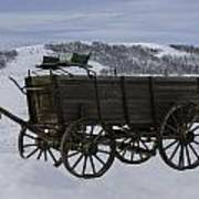The Old Wagon Art Print