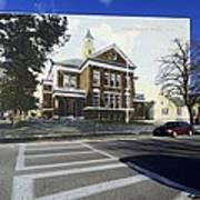The Oliver School In Bristol Rhode Island Art Print