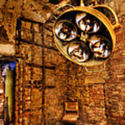 The Operating Room - Eastern State Penitentiary Art Print