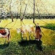 The Orchard Art Print