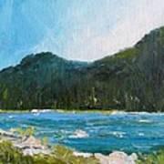 The Other Side Lake Chumash Art Print