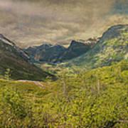 The Other Side Of Trollstigen Norway Art Print