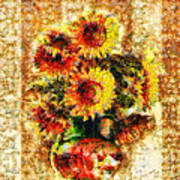 The Other Sunflowers Art Print