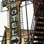 The Otis Hotel Art Print