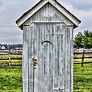 The Outhouse - 2 Art Print