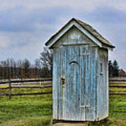 The Outhouse - 4 Art Print