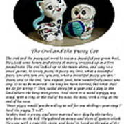 The Owl And The Pussy Cat Art Print by John Chatterley