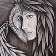 The Owl In Me Art Print