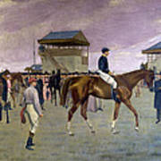 The Owner S Enclosure Newmarket Art Print by Isaac Cullen