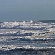 The Pacific Ocean Near Oceanside Ca Art Print