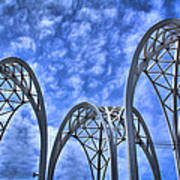 The Pacific Science Center Art Print