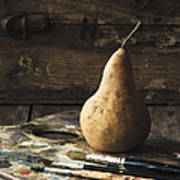 The Painter's Pear Print by Amy Weiss