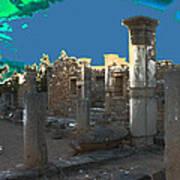 The Palaestra -temple Of Apollo Art Print