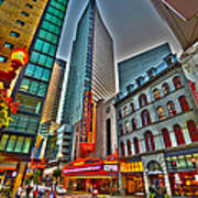 The Paramount Center And Opera House In Boston Art Print