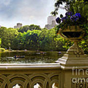 The Park On A Sunday Afternoon Art Print