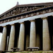 The Parthenon Nashville Tn Art Print