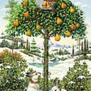 The Partridge In A Pear Tree Art Print