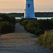 The Path To The Lighthouse Art Print