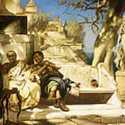 The Patrician's Siesta Art Print