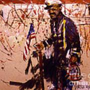 Use 2b So Ez - The Patriot Art Print
