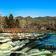 The Payette River Art Print