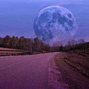 The Peace Moon  Art Print