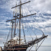 The Peacemaker Tall Ship Art Print by Dale Kincaid