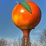 The Peach Art Print