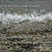 The Pebbled Shore 2 Art Print